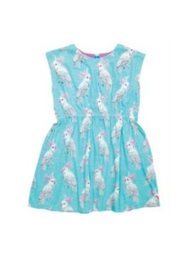 Pink Chicken Pink Chicken - Hadley Dress - Cockatoo
