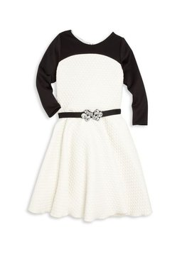 Zoe Ltd Zoe Ltd - Colorblock Belted Dress
