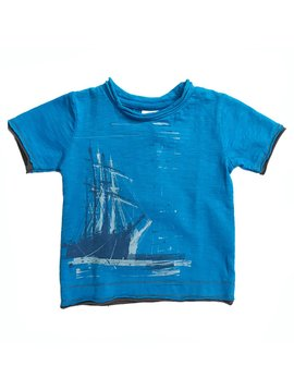 Appaman Ship Slub Baby Tee - 6M