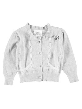 Le Chic Baby Silver Cardigan