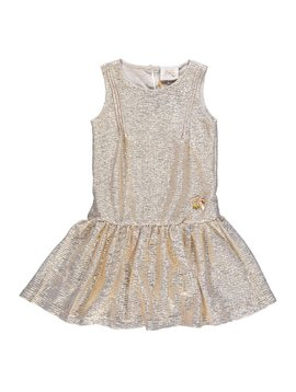 Le Chic Royal Gold Dress