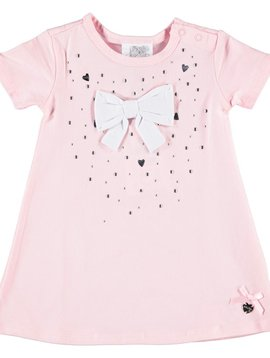 Le Chic Baby Pink Dress w Bow