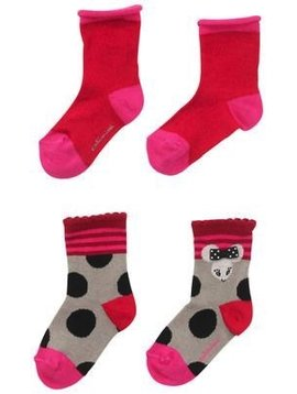 Catimini 2-Pack Mouse Socks