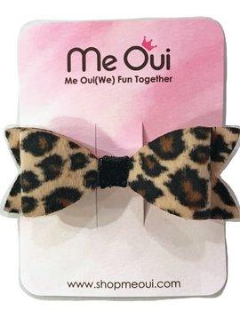 Me Oui Leopard Hairclip