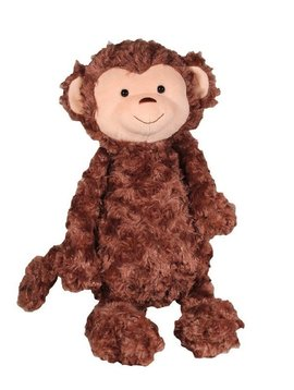 Zubels Plush Brown Monkey