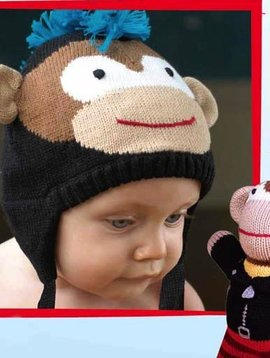 Zubels Monkey Knit Hat