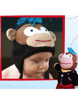 Zubels Monkey Knit Hat