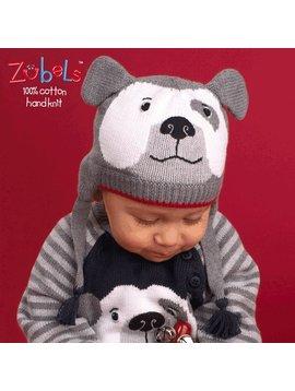 Zubels Bulldog Knit Hat
