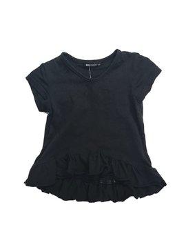 LAmade Baby V-Neck Ruffle - Black