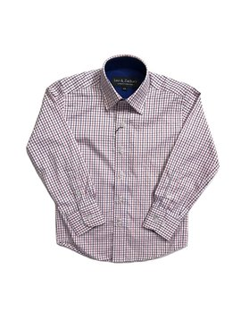 Leo & Zachary Dress Shirt - Check