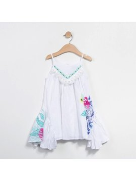 Catimini Voile White Dress
