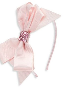Bari Lynn Headband - Fancy X-Large Grosgrain - Pink