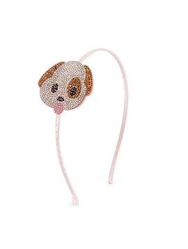 Bari Lynn Emoji Headband - Puppy