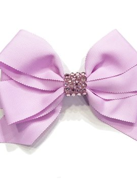 Bari Lynn Fancy X-Large Bow - Lavender