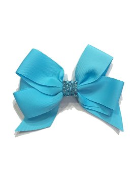 Bari Lynn Fancy X-Large Bow - Blue