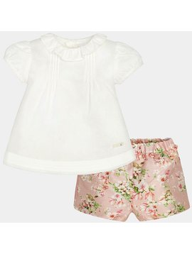 Mayoral Rose Short Set