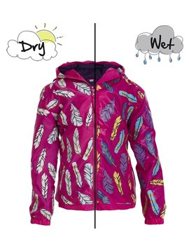 Holly and Beau Feather Rain Jacket