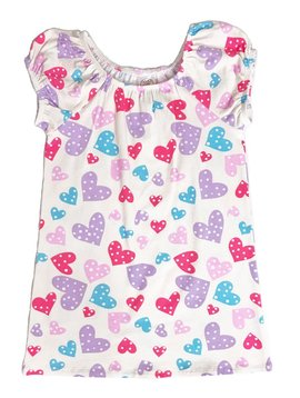 Esme Loungewear Confetti Hearts Remi Dress