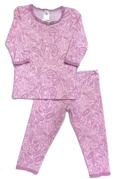 Esme Loungewear Paisley 3/4 Sleeve Top w Leggings