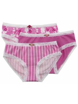 Esme Loungewear Panty 3-pack - Kitty