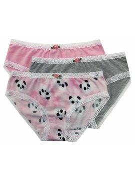 Esme Loungewear Panty 3-pack - Panda