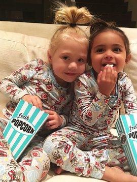Esme Loungewear Movie Night Long Sleeve Pajama