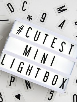 My Cinema Lightbox Mini Cinema Lightbox