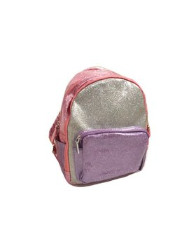 Bari Lynn Glitter Mini Backpack