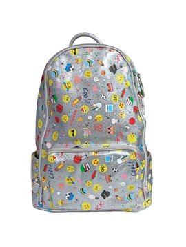 Bari Lynn Emoji School Backpack