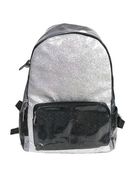 Bari Lynn Glitter School Backpack
