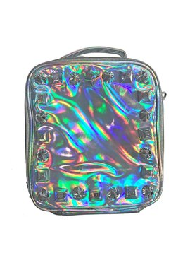 Bari Lynn Studded Hologram Lunchbox