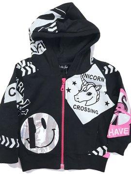 Plastic Jus Unicorn Patern Jacket