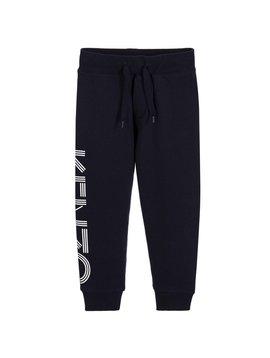 Kenzo Navy Logo Trousers