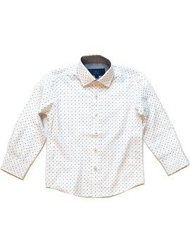 Leo & Zachary Grey Curves Dress Shirt