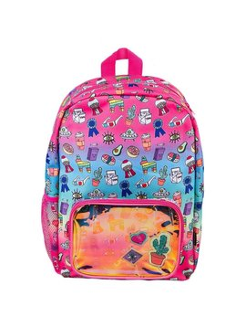 Fashion Angels Rainbow Ombre Doodle Backpack