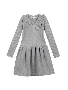 Lili Gaufrette Luton Dress - Grey