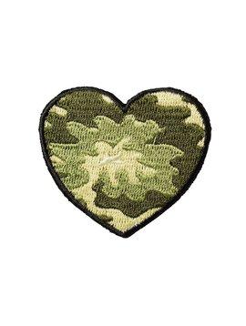 Stoney Clover Lane Camo Heart Patch