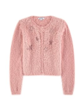 3pommes & B-Karo Rose Fuzzy Sweater