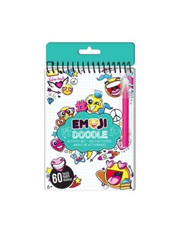 Fashion Angels Emoji Doodle Activity Book