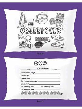 Misc #SLEEPOVER Keepcase Pillowcase