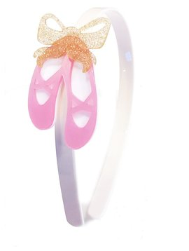 Lilies and Roses Headband - Ballet Slippers