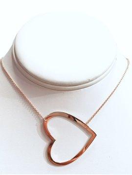 BRIATI XL Open Heart Necklace
