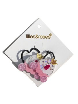 Lilies and Roses Ponytail - Princess Carriage