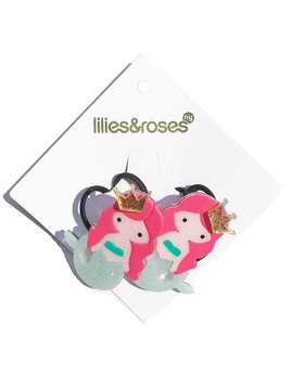 Lilies and Roses Ponytail - Mermaid