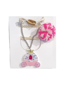 Lilies and Roses Necklace - Princess Carriage