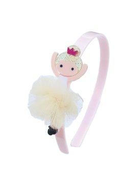 Lilies and Roses Headband - Gold Ballerina