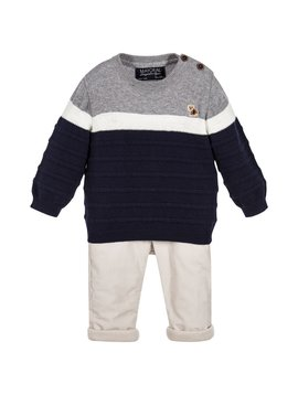 Mayoral Knit Sweater w Pant Set