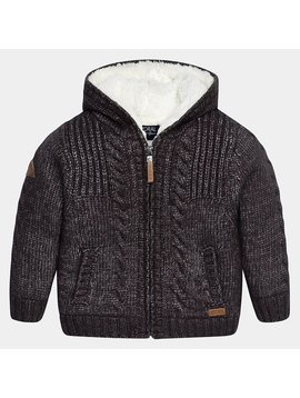 Mayoral Knit Lined Sweater Jacket