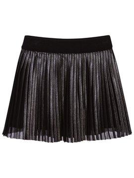 Mayoral Pleated Metal Skirt