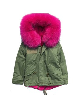Sugar Bear Fur Parka